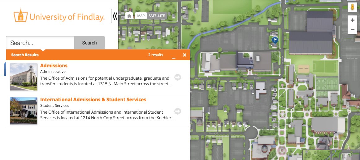 Directions To The University Of Findlay