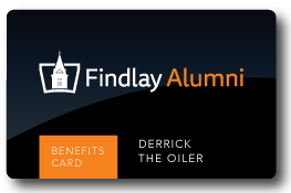 Findlay Alumni Benefits Card