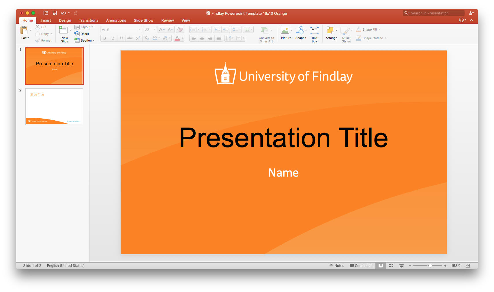 Findlay official powerpoint template powerpoint orangeg toneelgroepblik Images