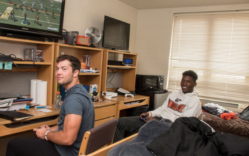 Bare Residence Hall Cottages Deming Guys In Dorm