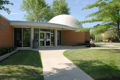 photo of the newhard planetarium