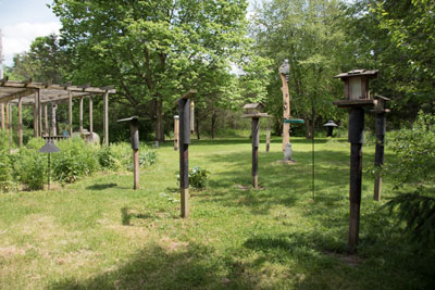 Rieck Center Bird Houses