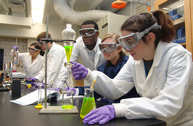 Modern Chemistry Classroom ~ College of sciences university findlay