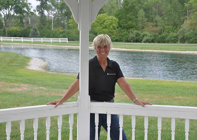 UF Riding instructor Sue King